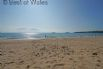 Abersoch beach - one of many sandy beaches within a few miles