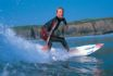 Porth Neigwl (Hell's Mouth) is a very popular venue for surfers