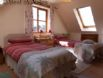 Light and airy twin bedroom (can be arranged as king bed on request)