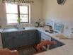 Fully fitted kitchen - perfect for self catering fishing holidays