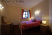 Second double bedroom at Blaenenlli holiday cottage Aberystwyth