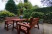 Private patio, garden & covered play area for young children