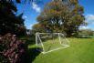 Garden includes BBQ set, slide, football goal, playhouse & trampoline
