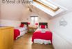 Twin loft bedroom - Holiday Cottage in Tresaith