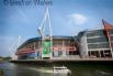 Can walk to the Millennium Principality stadium