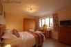 Bedroom 1 (ensuite) - king size bed and a stunning view down to the Dee valley.