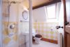 Upstairs private shower room for the family bedroom
