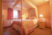 Bedroom 4: Beautiful cream 4 poster double bed with ensuite facilities
