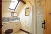 Shower room provides a top of the range electric shower