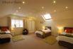 Bedroom 6 - large bedroom furnished with 3 single beds
