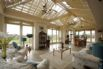 Bright and airy orangery with amazing views over the grounds