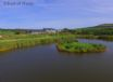Two large and safe fishing lakes in beautiful surroundings at the far end of your huge landscaped garden
