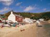 Ty Coch Inn on Porthdinllaen beach - voted 3rd best beach pub in the world