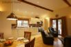 Spacious, open plan lounge, kitchen and dining area