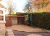 Paved, gravelled & decked rear garden sunny aspect