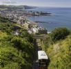 View over Aberystwyth from the Cliff Railway on Constitution Hill