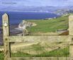 Wales Coast Path - View north from Llanrhystud towards Aberystwyth