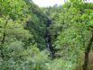 The beautiful waterfalls at Devils Bridge