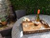Chiminea for heating & al fresco dining