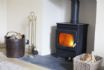 The Corner House - Wood Burner