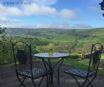 The amazing view that can be enjoyed in complete privacy at Foel Fach