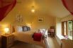 Double bedroom also with amazing views over the countryside