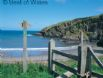 Just a short walk from the coastal path