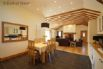 Open plan kitchen/diner/lounge area offers spacious living
