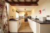 Fully equipped kitchen at this 5 star cottage near the beach
