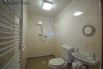 En-suite shower room with the ground floor bedroom is also suitable for disabled guests