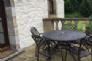 Kudu - Private patio.