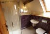 Upstairs shower room at Stabal y Sarn holiday cottage