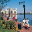 Relax at Cardiff Bay's waterfront - 5 minutes by bus, train, boat or taxi